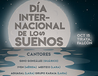 """Cartel """"Día Internacional de los Sueños"""" (Falcón)"""