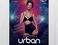 Urban Party - Download Free PSD Flyers Template