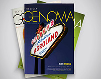 Genoma Magazine - Covers