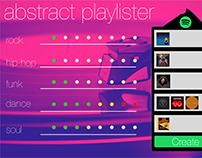 Spotify Abstract Playlister