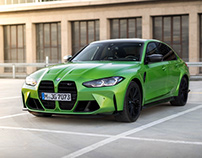 BMW M3 (G80) Competition