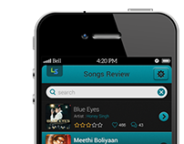 Music Review (Mobile App)