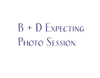 B+D Expecting : Photo Session May 2015