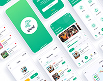 Gfund Charity Donation Mobile App UI