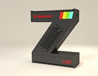 Lettering 3D ZX Spectrum