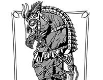 War Horse Daga