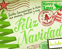christmas corporate card -PR agency