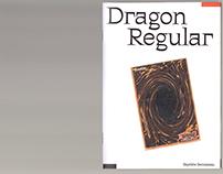 Dragon Typeface Specimen
