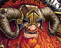 BIG Gimmick: Tyr Norse God