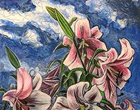 Lilies Grow on Ernie Lane