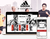 Adidas TR E-Commerce Website - 2015 [RND]