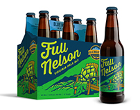 Package Design - Blue Mountain Brewery