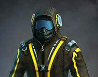 SciFi Pilot Character Concept