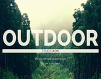 Outdoor - One Page Responsive WordPress Theme