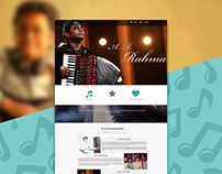 A.R. Rahman Unofficial One page website