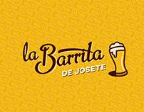 LA BARRITA, Logo design and Brand Book