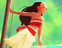 Moana ~ Fan art