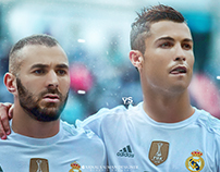 New Edit & Retouch for cristiano  and benzema