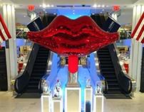 Macys disco lips lipstick vitrine 2015