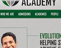 Digital | Evolution Academy – Website Concept