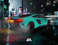 Need For Speed Poster Design