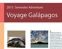 Voyage Galápagos - 2013 Semester Adventure