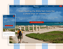 Walking The Text (Web Re-design)