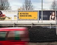 """""""Reci to glasno"""" billboards"""