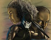 Vigilante Project Issue 3 - Comic Book Lettering