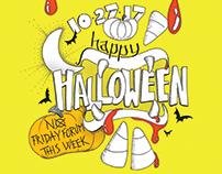 Halloween Forum Poster