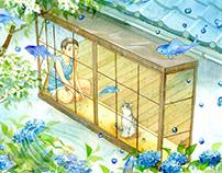 Fantasy of Rainy Season / 梅雨季节的幻想