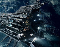 Evil Space Cruiser