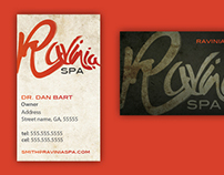 Ravinia Spa - Branding and website