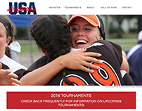 Web Design: Louisiana ASA/USA Softball