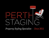 Perth Staging Logo Design