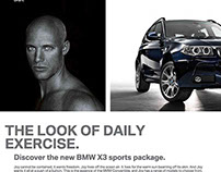 BMWX3 SPORTS PACKAGE.
