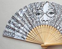 Special Portrait Folding fan