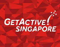 GetActive! Singapore 2016 Marketing & Design Collateral