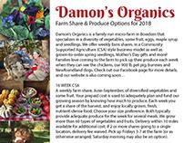 Damon's Organics Posters
