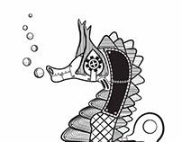 Steampunk Animal Illustrations