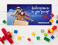 Rabita Bank - Development Concept - Child Deposit