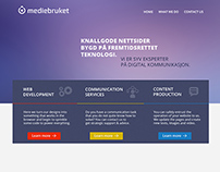 Mediebruket  - website design