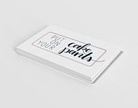 Put On Your Cake Pants Cooking Blog Logo