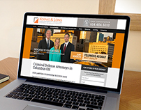 Website for Koenig & Long Attorneys
