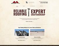 Roofing Website - Design Concept