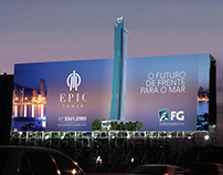 Billboard series for FG Empreendimentos