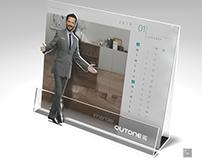 Qutone Ceramic Calendar Design