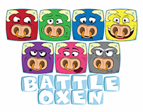 Battle Oxen - 2D Game