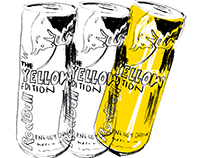 Red Bull Pop Art Illustrations