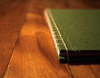 Hand Crafted, Japanese Stab Bound Portfolio Journal